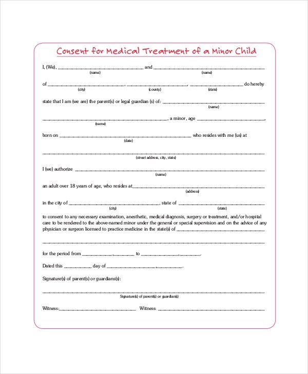 Printable medical release form free download thecheapjerseys Gallery