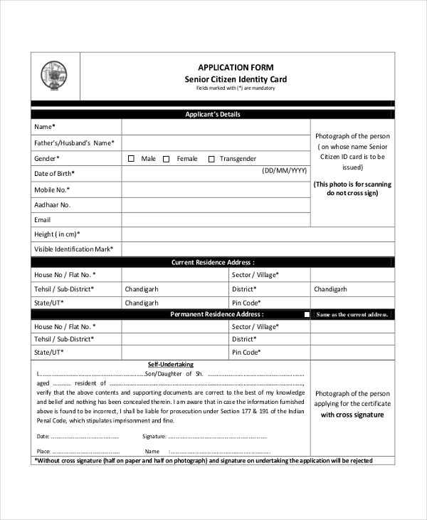8 Citizenship Application Sample Forms Word Pdf