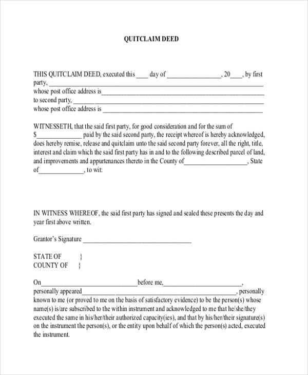 Grant Deed Trust Form California