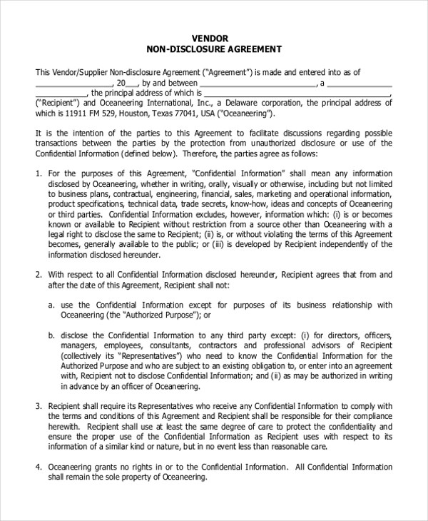 [the dispute, shall be referred to and finally resolved by arbitration administered by the singapore international arbitration centre in accordance with the. Free 6 Sample Non Disclosure Agreement Forms In Pdf Ms Word
