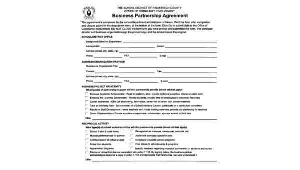 This small business partnership agreement, entered into on … Free 9 Partnership Agreement Samples In Ms Word Pdf