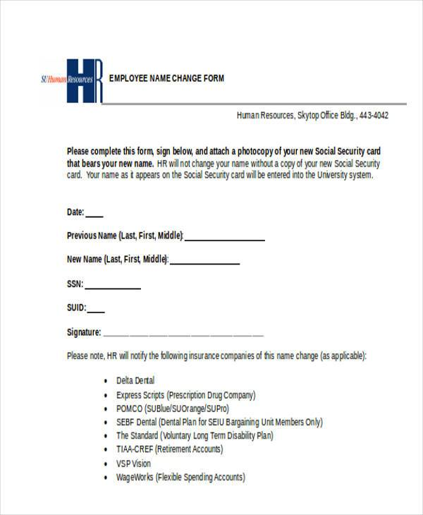 Form For Name Change Social Security   Download Free Form Templates And New  Template Designs. Free For Commercial Or Non Commercial Projects, Youu0027re  Sure To ...