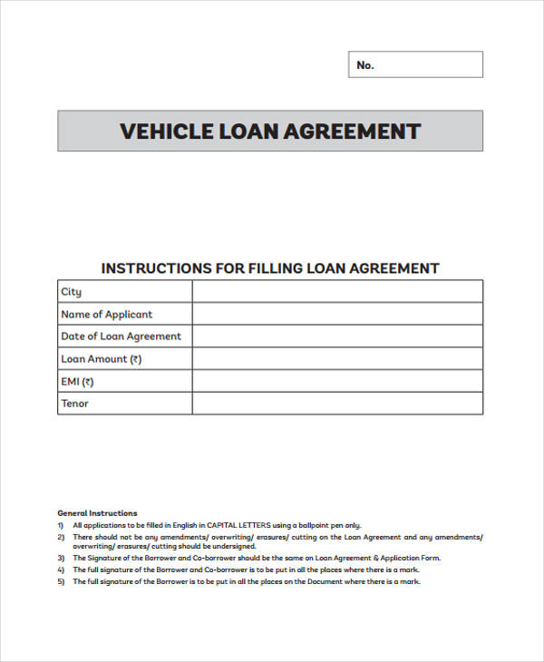 The borrower promises to pay back the loan in line with a repayment schedule (regular payments or a lump sum). Free 56 Loan Agreement Forms In Pdf Ms Word