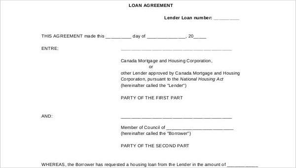 There are many different types of loan agreements. Free 35 Loan Agreement Forms In Pdf