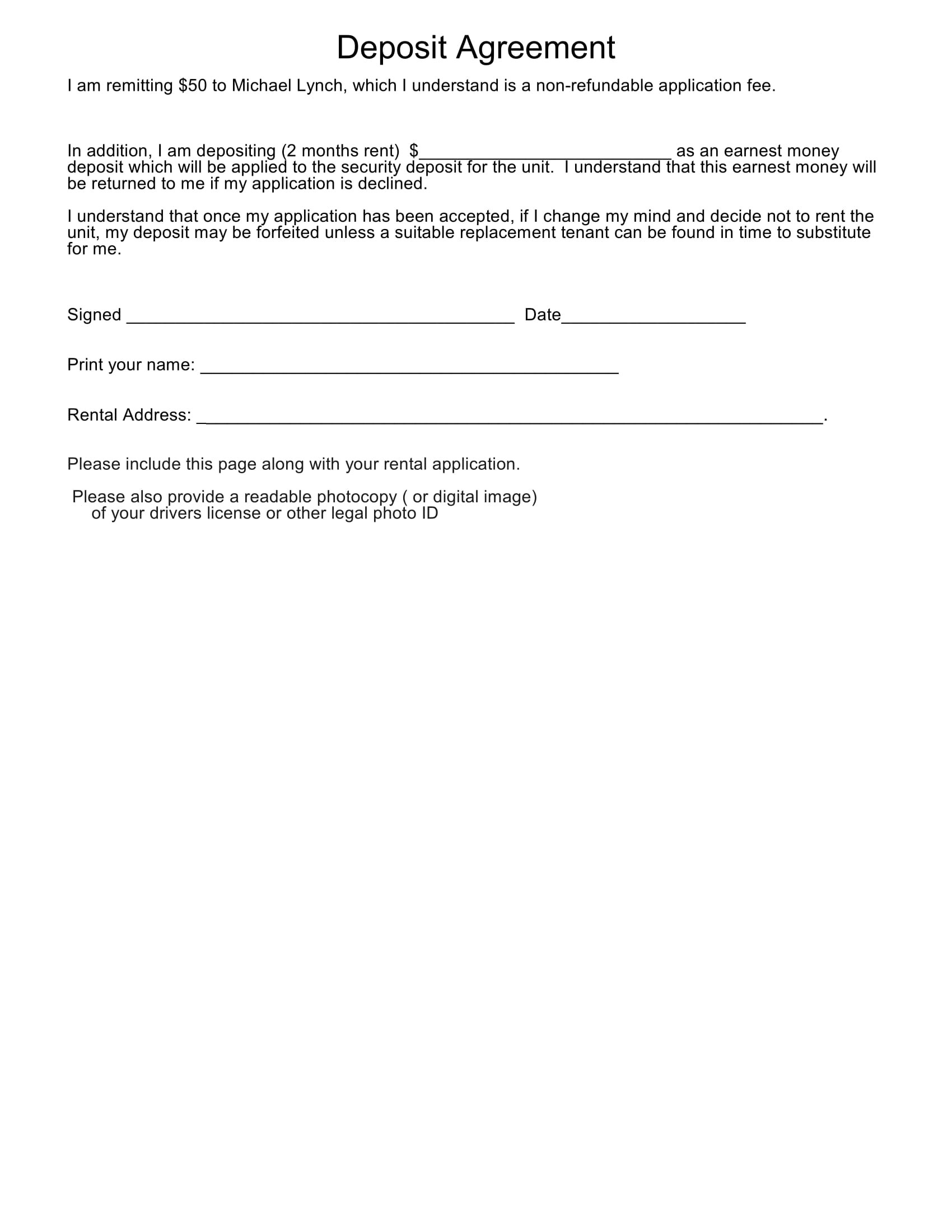 In together or get married then you should consider a binding financial agreement. Free 10 Finance Related Agreement Forms In Pdf