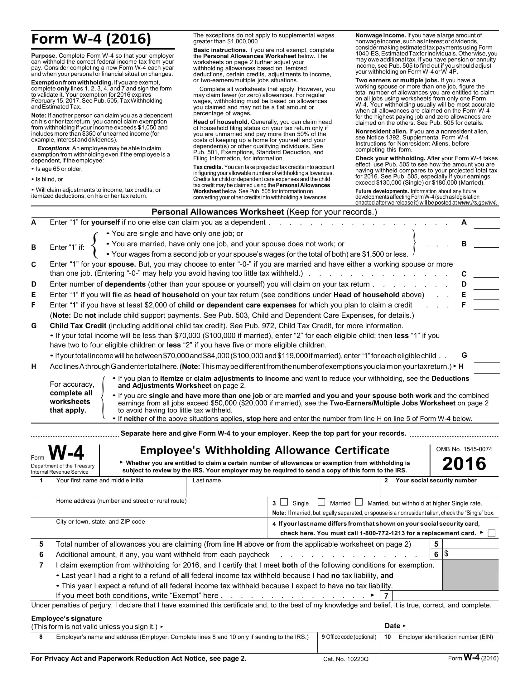 10 Varieties Of Tax Forms For Employers And Taxpayers