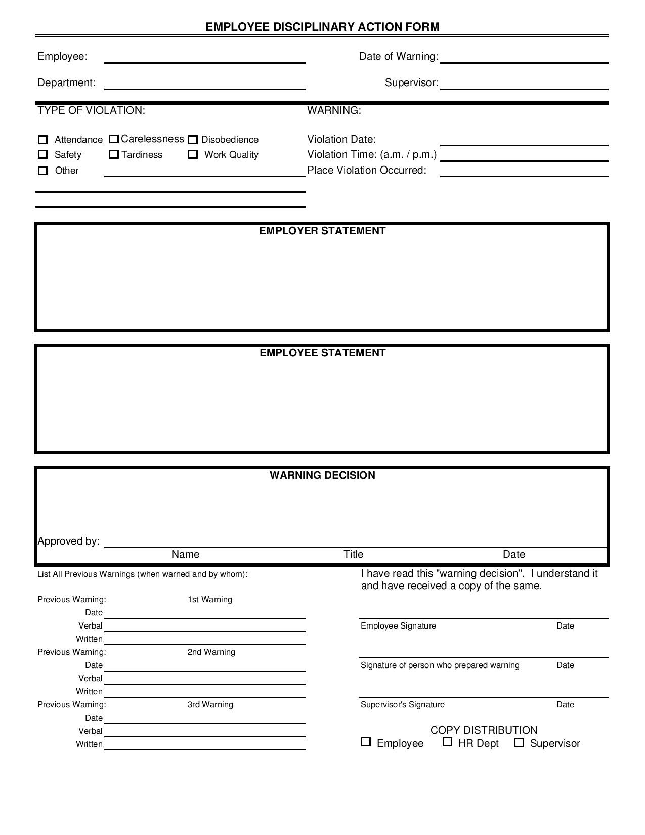 Free 27 Action Form