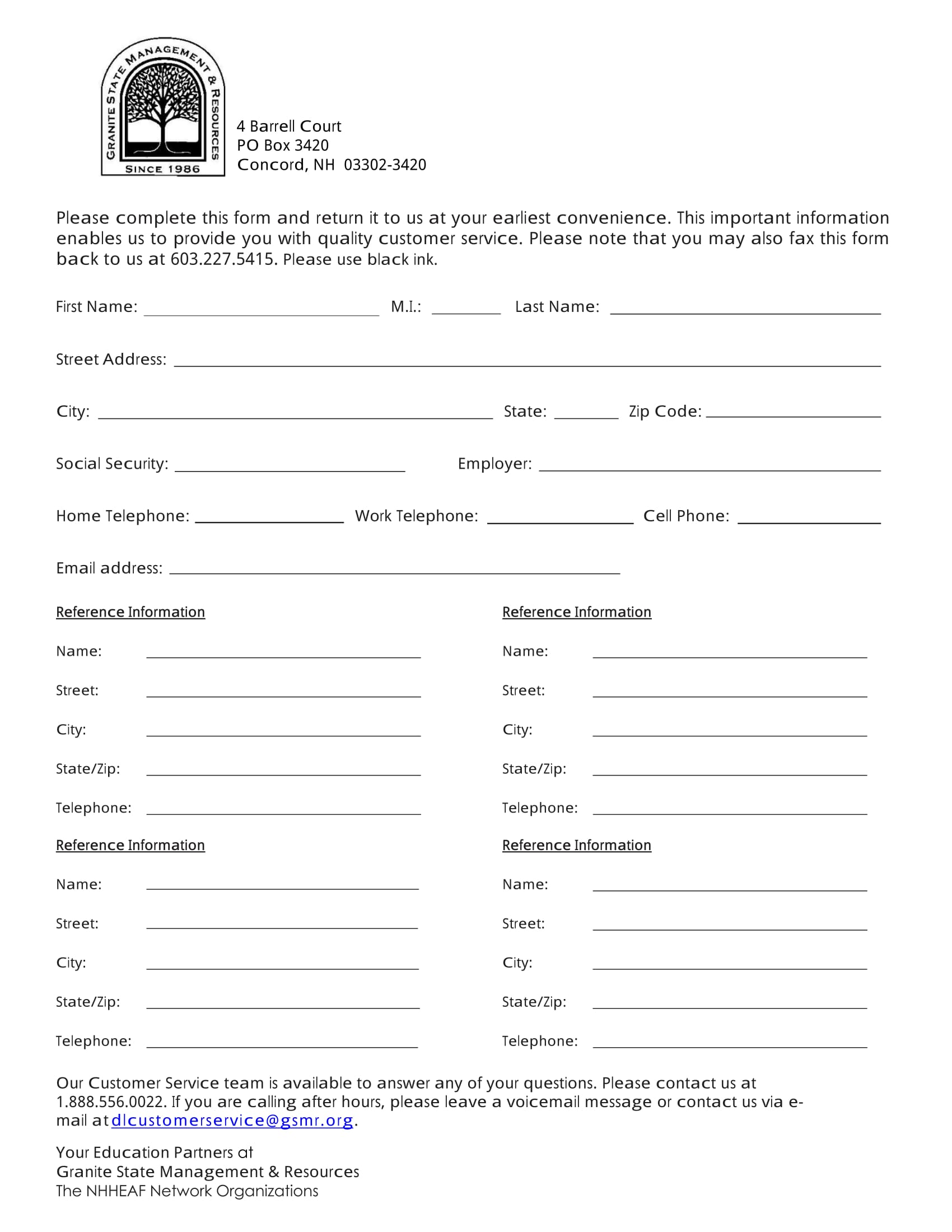 Contact form 11 has a bold design with bright colors and beautiful vector illustrations. Free 13 Contact Information Forms In Ms Word Pdf