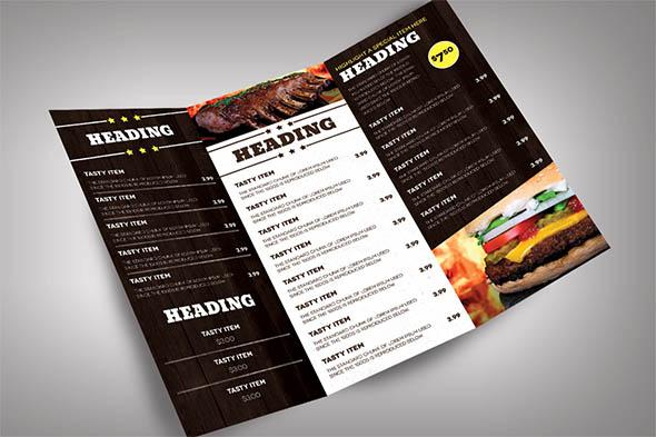 19 Beautiful Restaurant Menu Design Templates Sample Templates