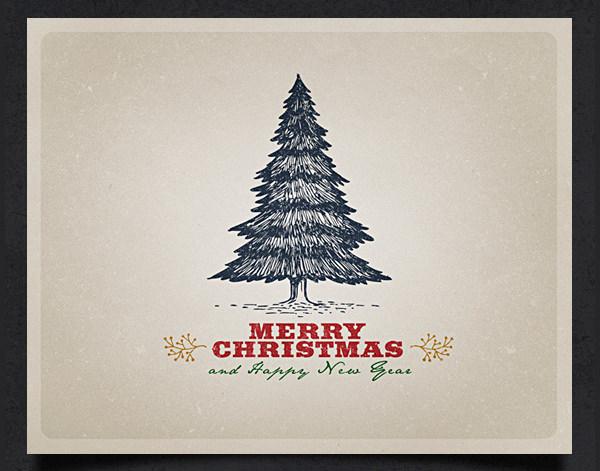 14 Best Christmas Card Templates Sample Templates