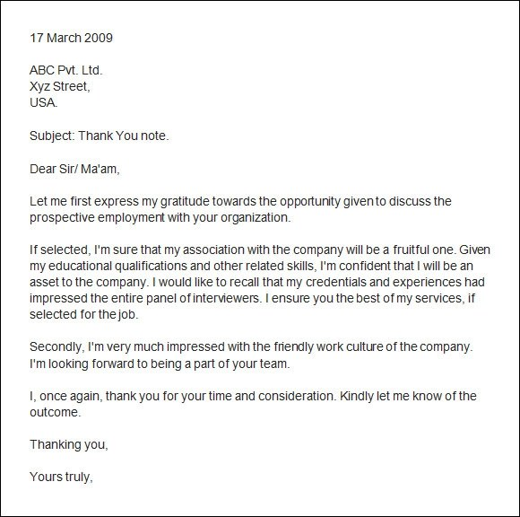 Sample email thank you letter after second interview poemdocor thank you email after second interview expocarfo Images