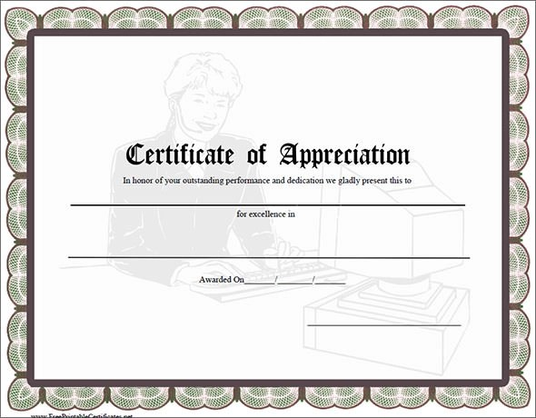 Certificate Templates For Coaches