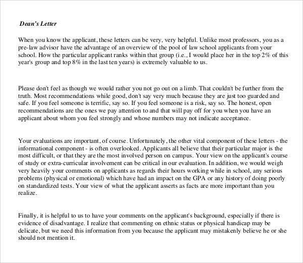 Dental Recommendation Letter Recommendation Letter Letter Of