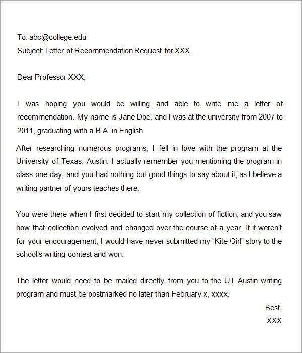 how to write a request for a letter of recommendation No groveling necessary asking someone to write you a letter of recommendation can feel almost as daunting as asking that special someone out to a movie you' re putting yourself out there, just hoping they like you back enough to say yes luckily, most of your teachers are well accustomed to writing.