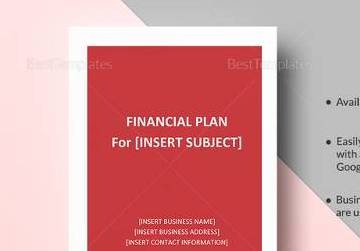 HD Decor Images » 9  Sample Financial Plan Templates   Sample Templates Printable Financial Plan Template in Word