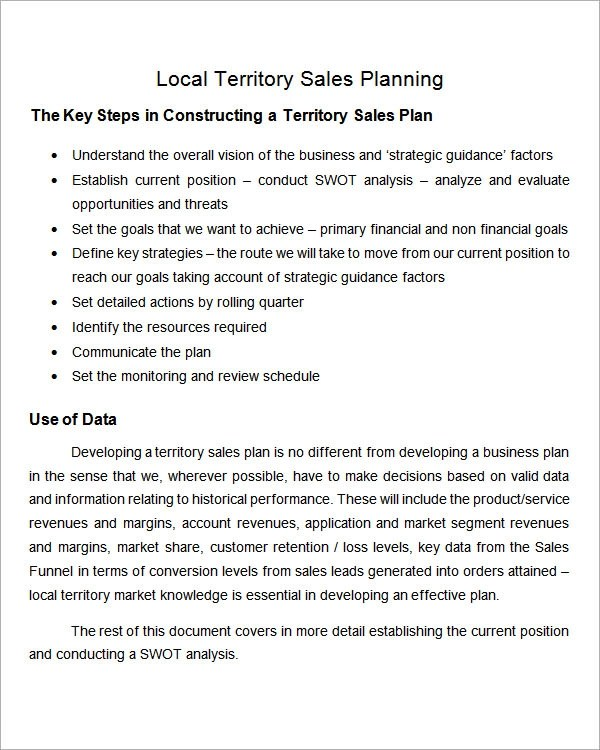 29 Sales Plan Templates PDF RTF PPT Word Excel