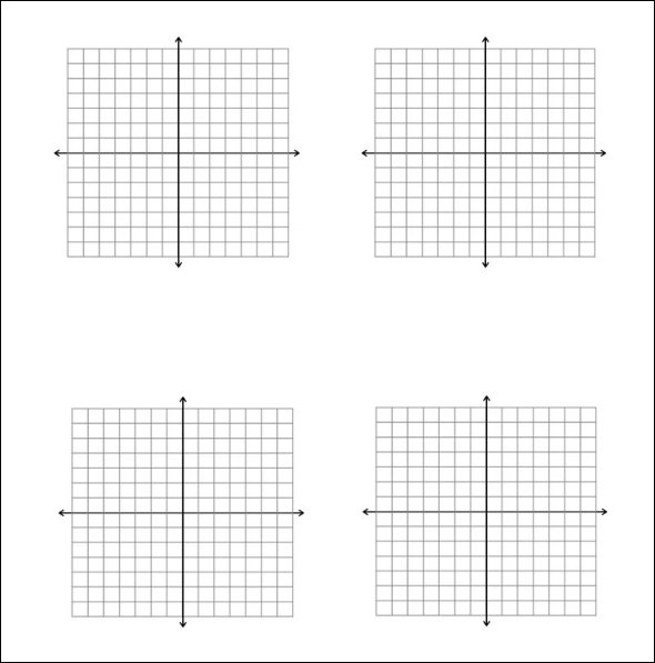 Linear Graph Paper Print Out