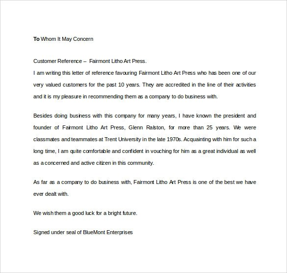 Co-Op Reference Letter | Docoments Ojazlink