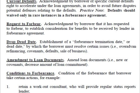 Free Resume 2018 Mortgage Forbearance Requirements Free Resume