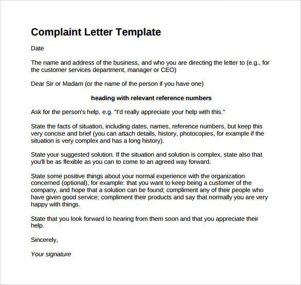 Complaint letter bank manager poor service docoments ojazlink complaint letter format yun56 co spiritdancerdesigns Gallery