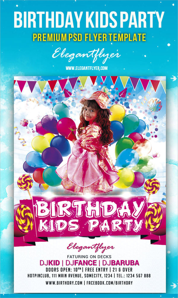 Birthday Flyer 8 Premium And Free Download