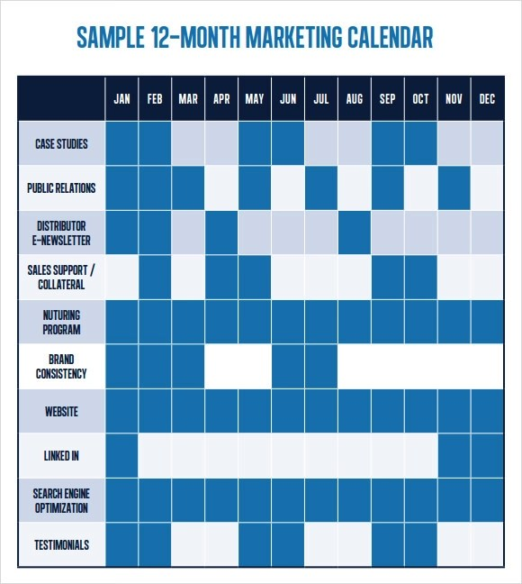 Free 6 Marketing Schedule Templates In Google Docs Ms
