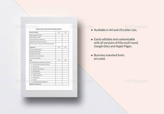 10  Inventory List Templates   Sample Templates Simple Business Inventory Checklist Template