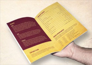 9 Church Bulletin Templates  Download Documents in PSD , PDF