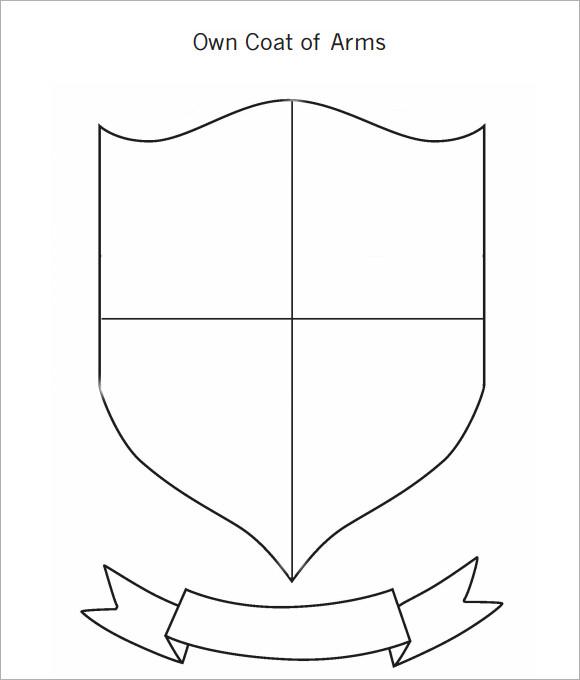 Hi Rez Coat Arms Template