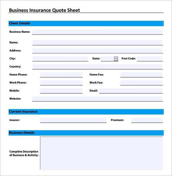 New Business Insurance Quotes: Commercial Business Insurance Quotes