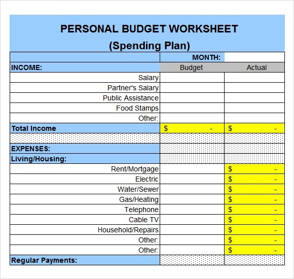 Free 9 Sample Expense Sheets In