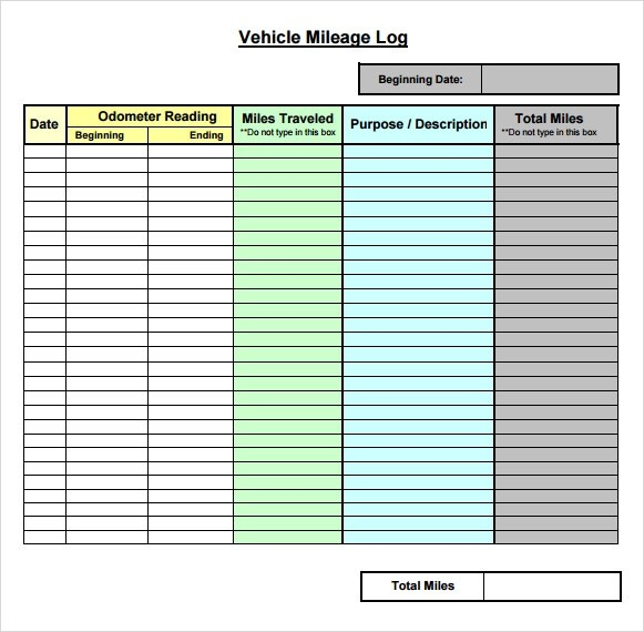 log sheet template word