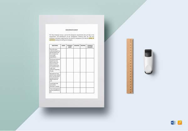 Survey Templates Satisfaction Printable