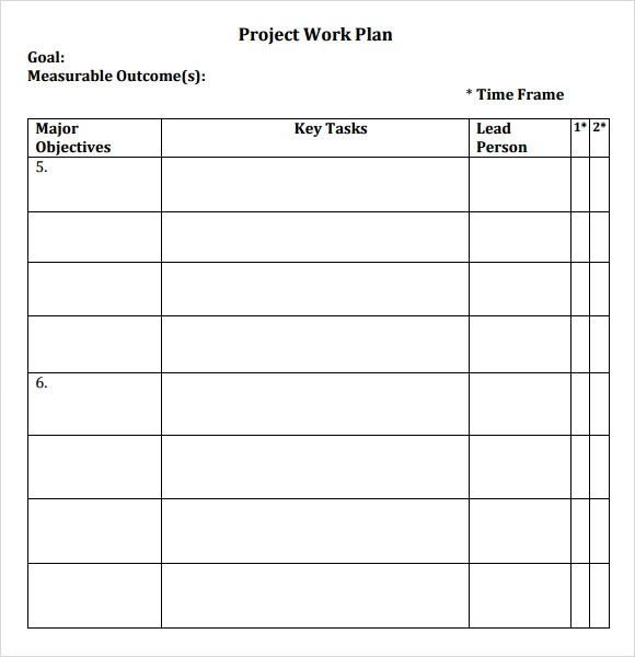 Includes a worksheet for entering data which automatically updates the roadmap. Free 17 Sample Work Plan Templates In Google Docs Ms Word Pages Pdf