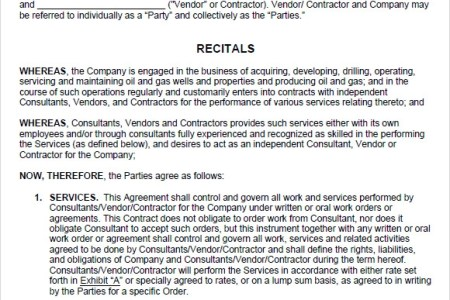 Free Resume Templates Service Agreement Contract Template Free