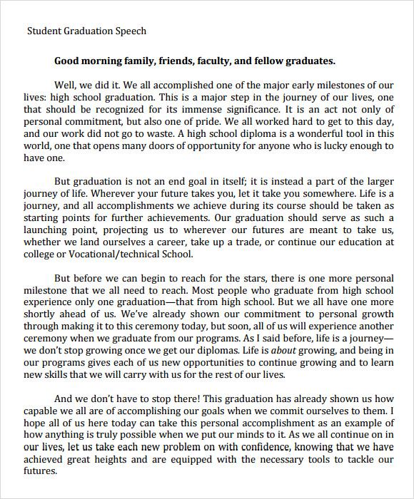 Good Opening Quotes For Speeches: Preschool Graduation Opening Speech