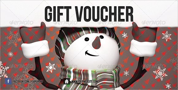10 Christmas Vouchers Sample Templates