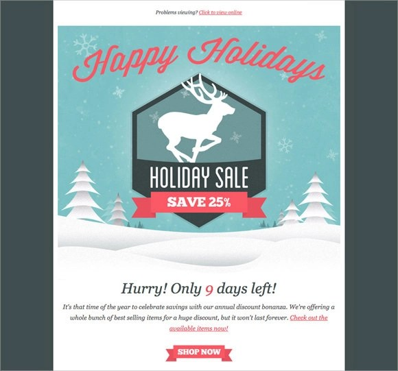 12 New Year Email Templates To Download Sample Templates