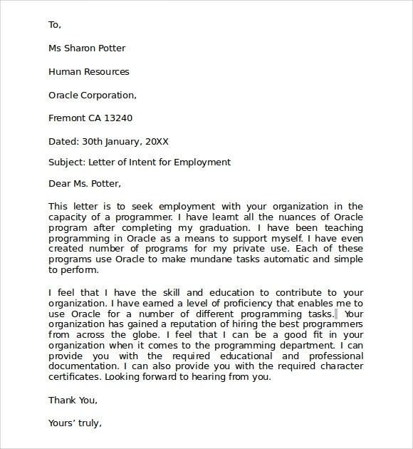 Doc460595 Letter of Intent to Purchase Goods Letter of Intent – Letter of Intent to Purchase Goods