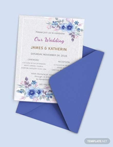 20 Sample Wedding Card Envelopes Psd Eps Ai