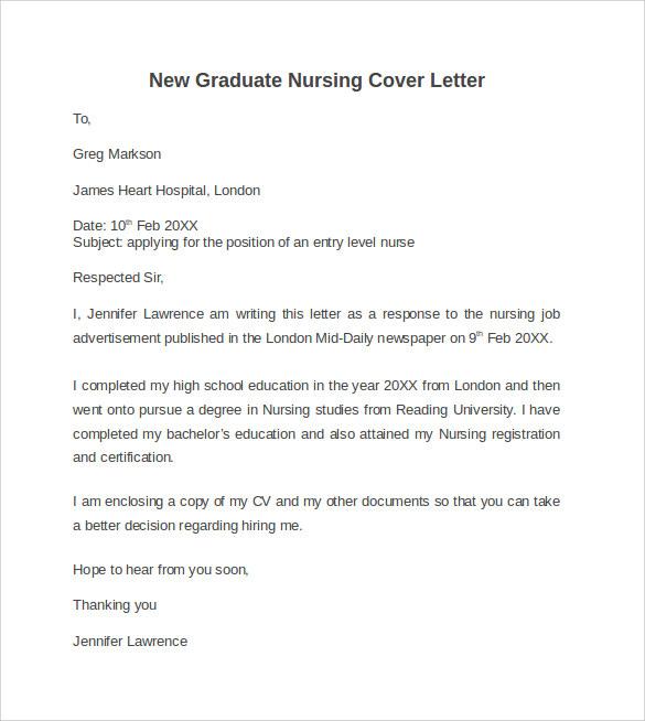 nursing internship cover letter | Docoments Ojazlink