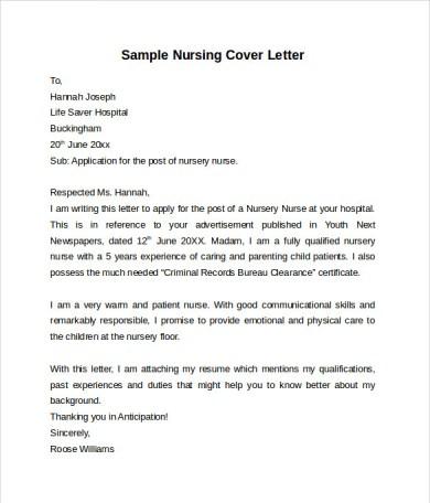 registered nurse cover letter cover letter for a nursing job cover letter nursing jobs resume resume