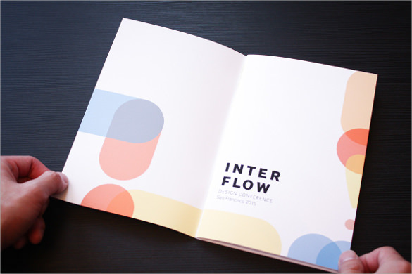 16 Sample Elegant Conference Brochure Templates Documents Vector EPS AI PSD Google Pages