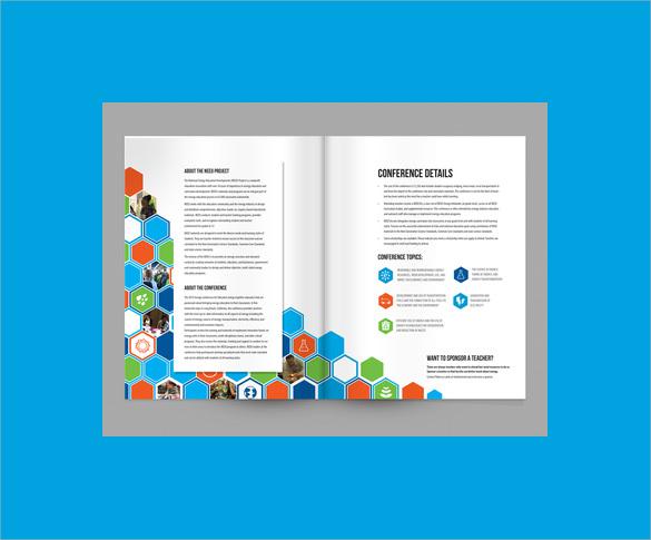 14 Elegant Conference Brochure Templates Sample Templates