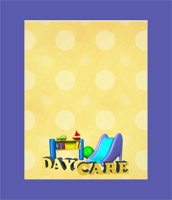 30 Daycare Flyer Templates Sample Templates