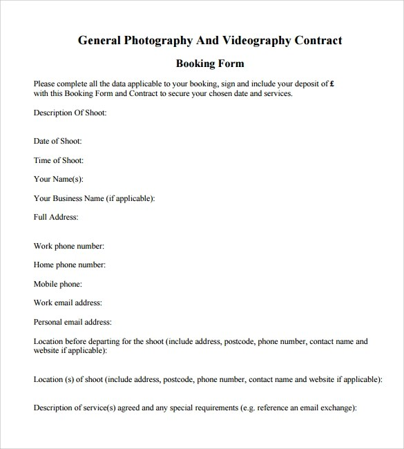 House Rules Contract Template