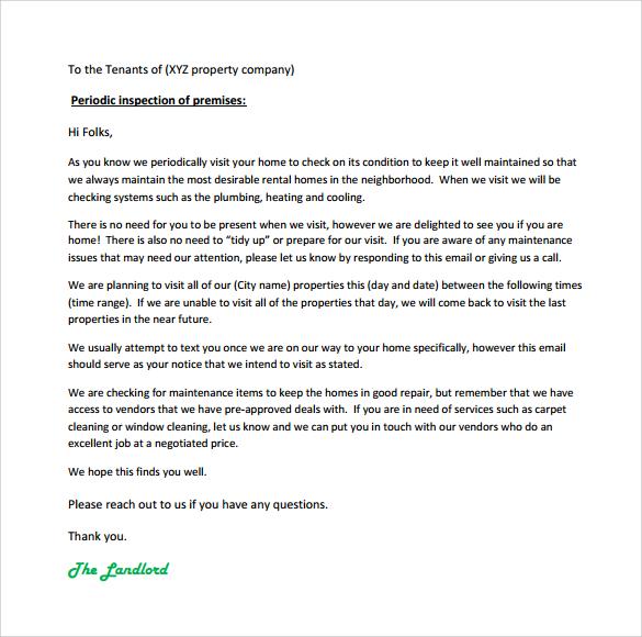 Lease Renewal Letter Pdf