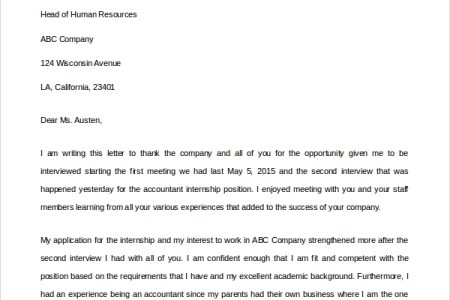 follow up thank you email after second interview sample superbo