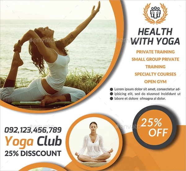 Yoga Flyer Template Gallery Template Design Free Download