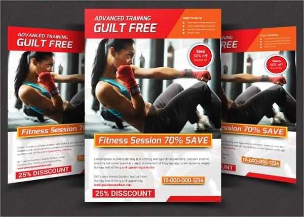 28 Fitness Flyer Templates Word PSD AI Publisher